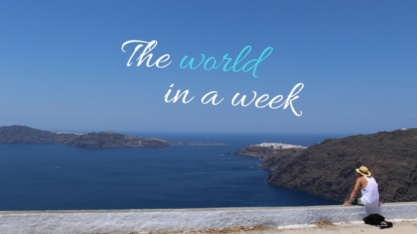 The world in a week